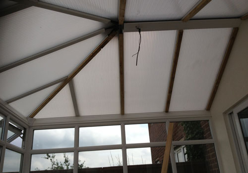 Conservatory Insulation, Before